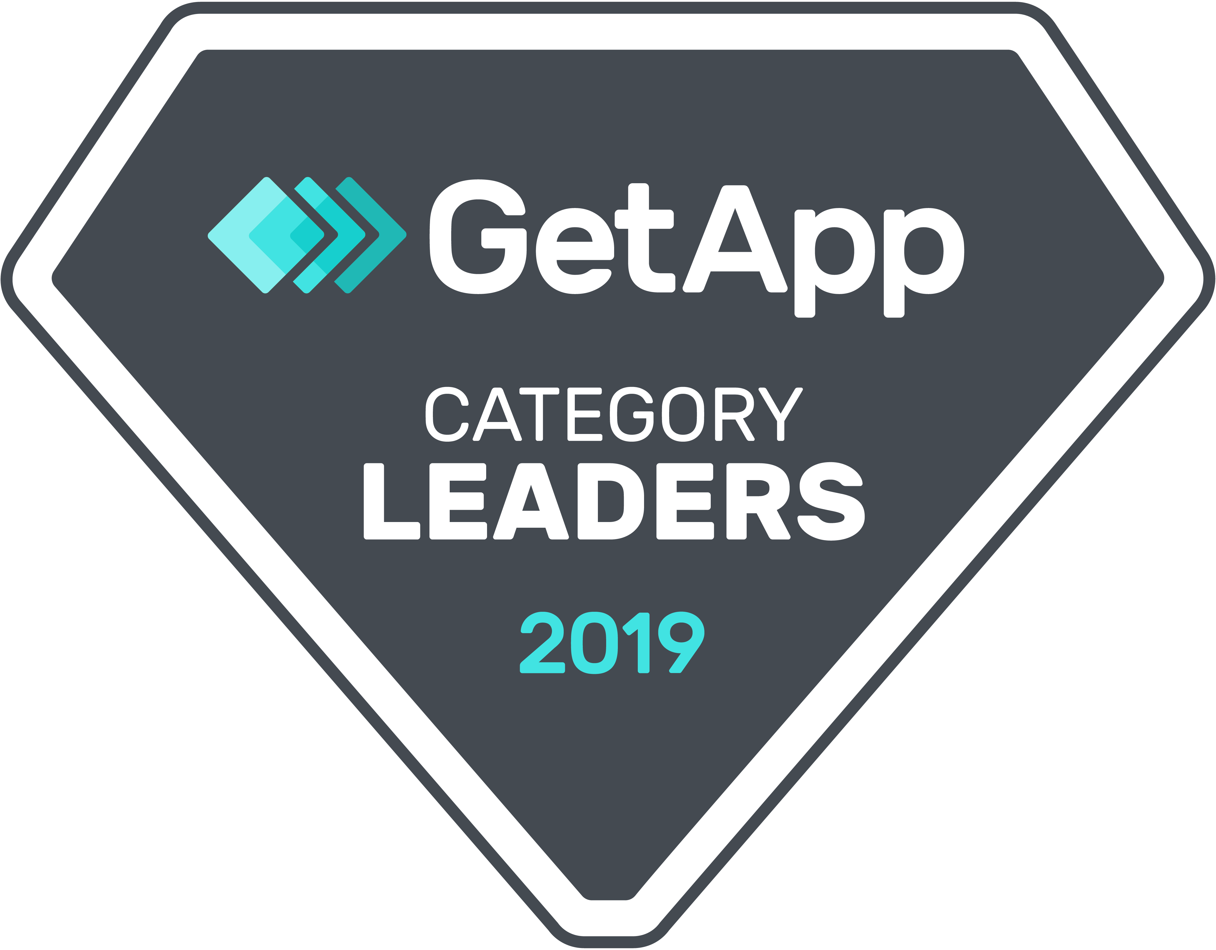 GetApp Category Leader Award 2019